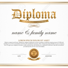 Diplome 1