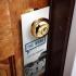 Door hanger 1/2 A4 (10,5 x 29,7 cm) stanta cruce 1