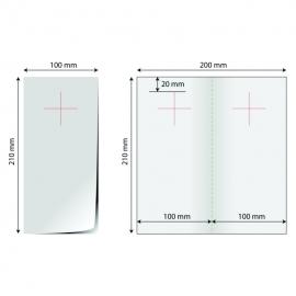 Door hanger 1/3 A4 (deschis 20x21cm) - bifold stanta cruce 1